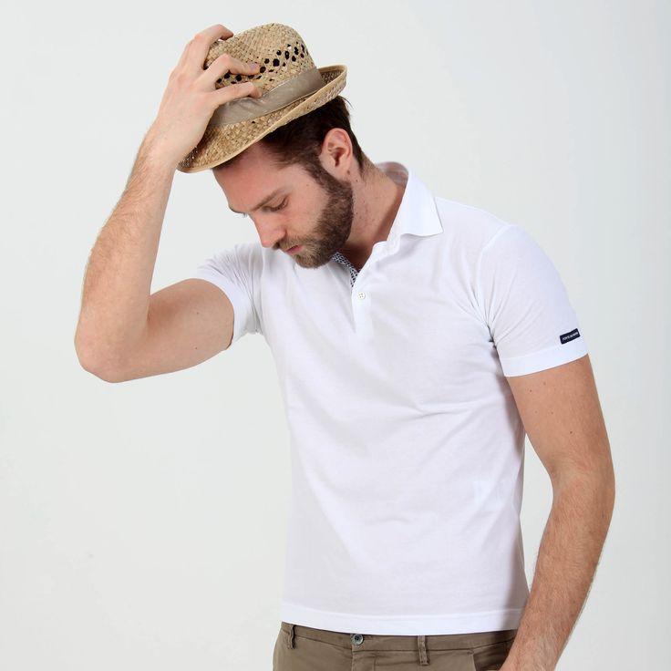 Polo modello David in jersey di cotone - Masons