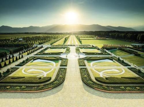 Royal Palace of Venaria (Turin, Italy) ~ Formal Gardens