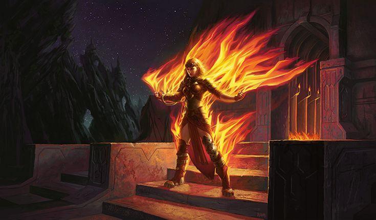 Chandra's Origin: Fire Logic | MAGIC: THE GATHERING