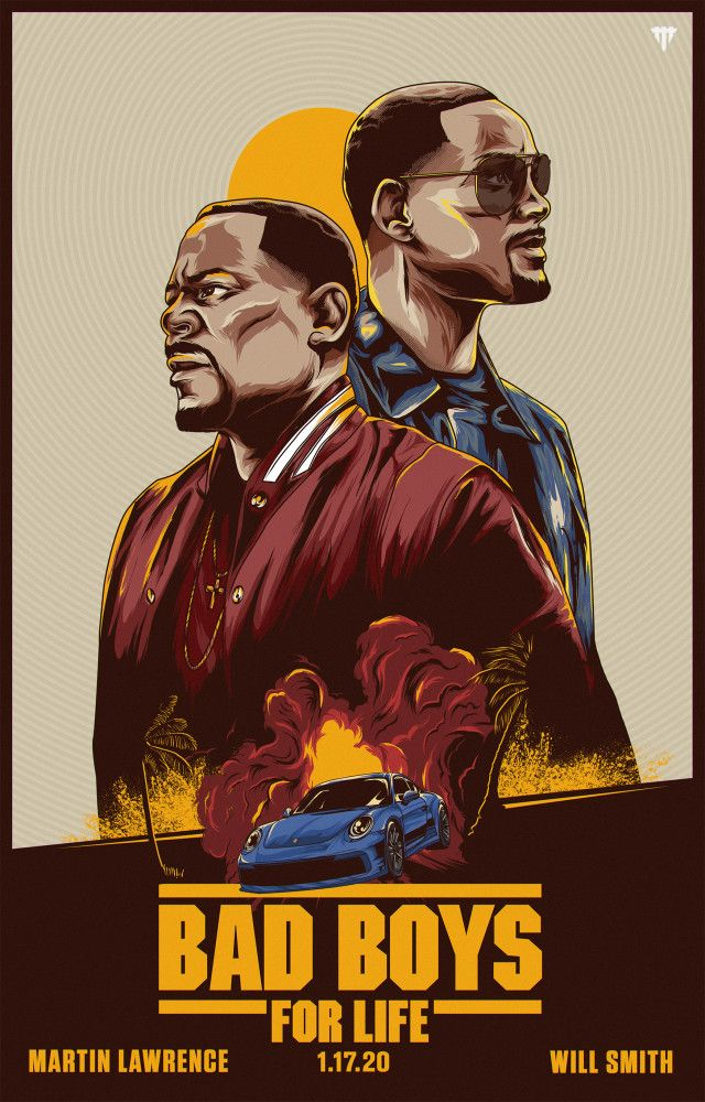 Will Smith gifts wall art Quote poster Bad Boys home decor print