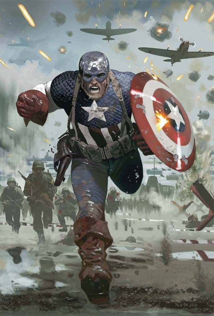redcell6:  Captain America #615.1 by Daniel Acuña