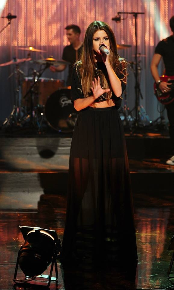 Selena en The Graham Norton Show el 23/05/13