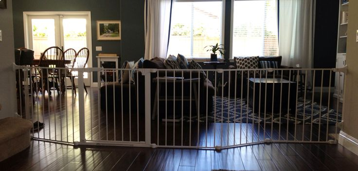 Extra Wide Baby Gates   Retractable Baby Gate for retract-a-gate review. retractable baby gate ...