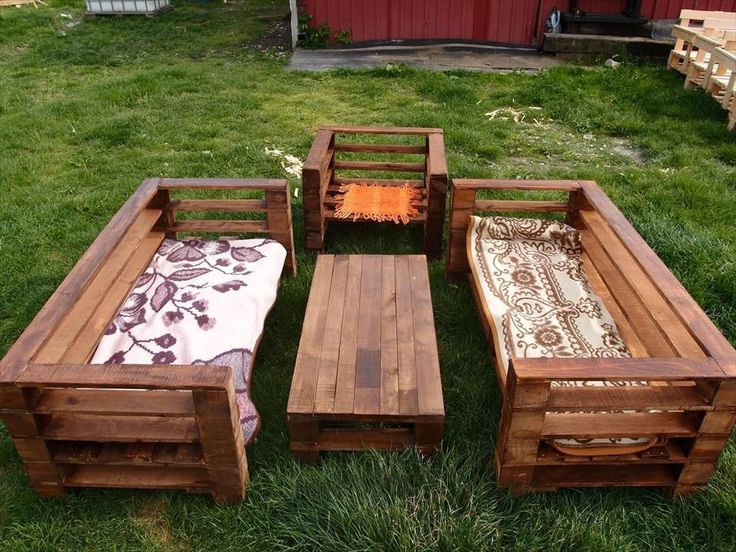 Garden Furniture From Wooden Pallets best 25+ wooden garden furniture sets ideas only on pinterest