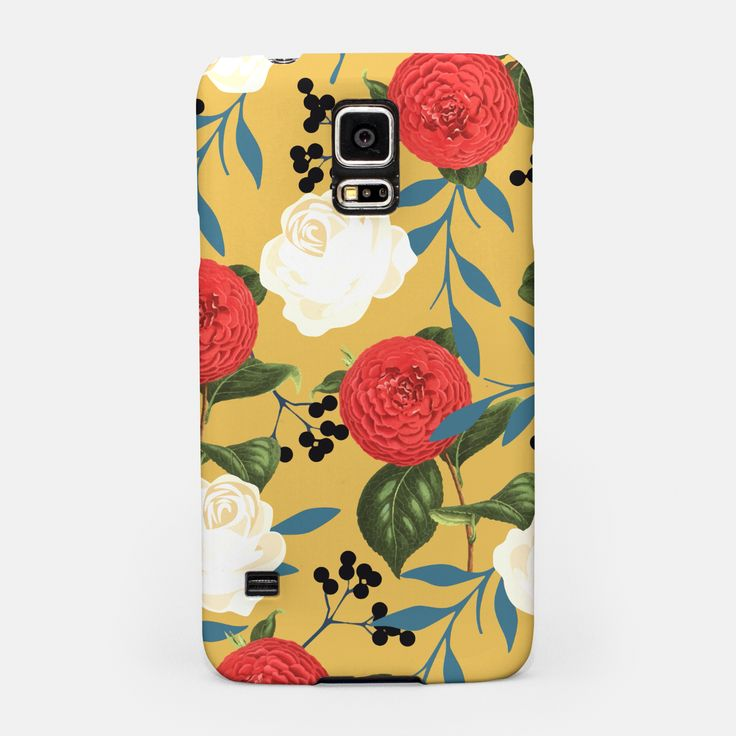 Floral Obsession Samsung Case, Live Heroes