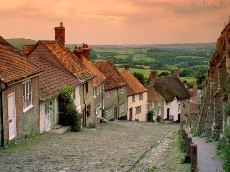 14 best british countryside towns villages images on pinterest papel de parede chales gold hill sciox Image collections