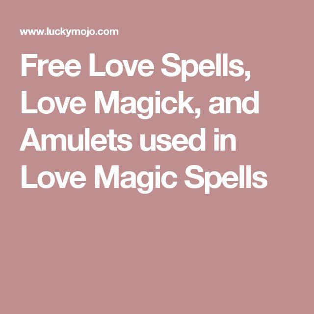 Domination free love spells