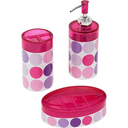 7 best girls bathroom images on pinterest bathroom for Zone bathroom accessories