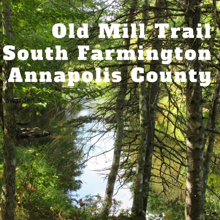 Old Mill Trail in South Farmington, Annapolis County by www.ValleyFamilyFun.ca