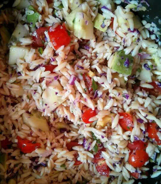 vegetarian lime orzo vegetarian leek and orzo vegetarian lime orzo ...