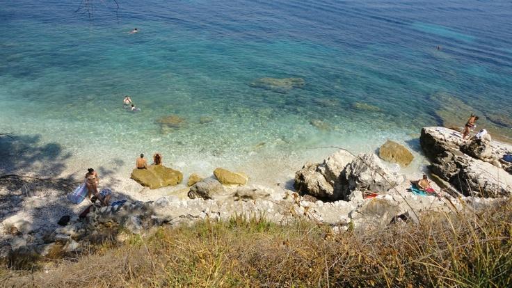 Kerkyra...nice small beach