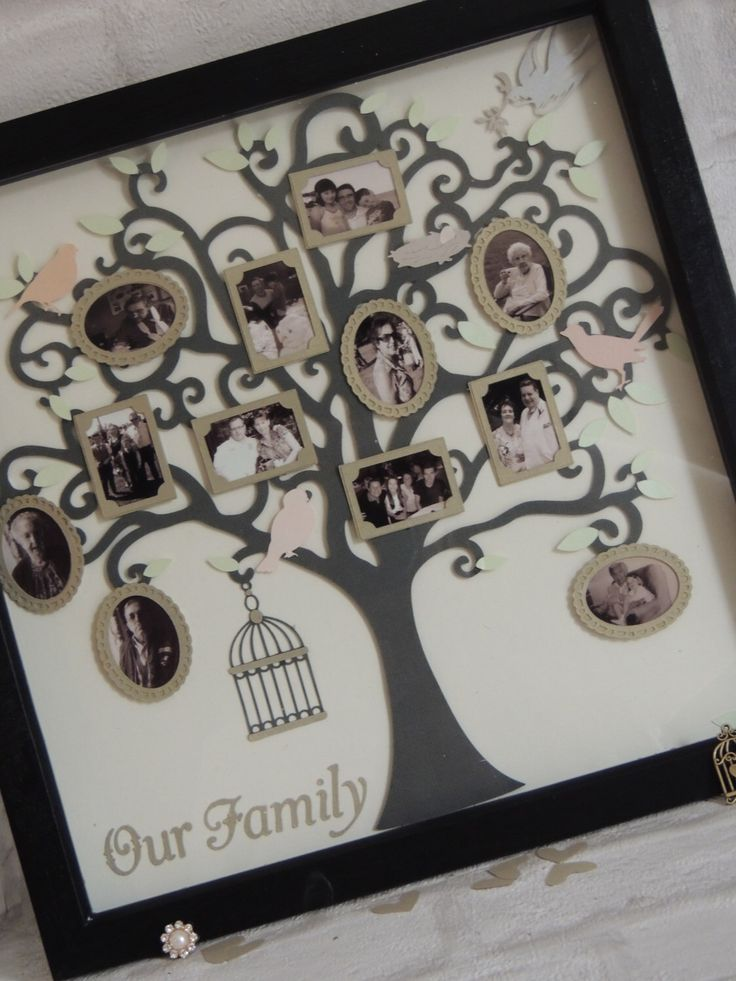 Photo Tree frames Vintage Bird Tree, Family Tree Gifts Photo Gifts Shadow Box Frames by RespokeBoutique on Etsy https://www.etsy.com/uk/listing/467261312/photo-tree-frames-vintage-bird-tree