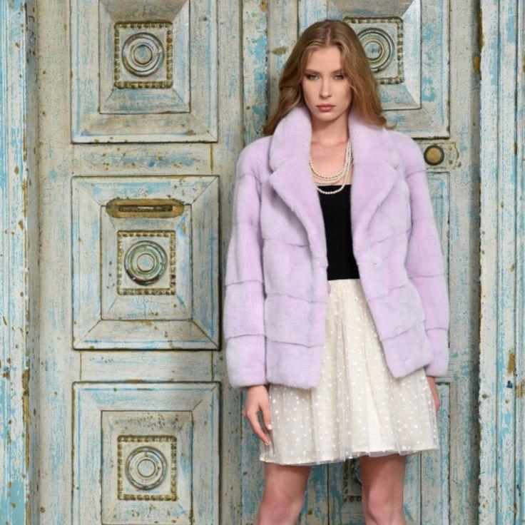 Meet the Violet Mink Jacket!  Find in store   Worldwide Shipping ✖️    #minkcoat #minkfur #mink #realfur #fur #furstyle #ootd #photoshoot #coat #jacket #furcoat