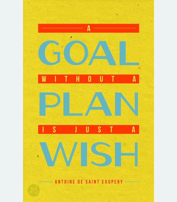 Organizetip: Zet je wens om in een concreet, realistisch en haalbaar plan en bereik zo je doel.