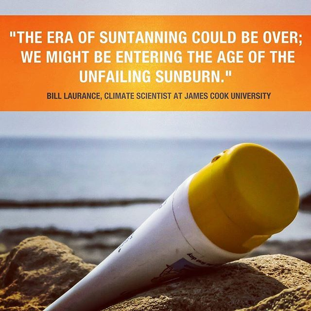 Ouch! A worrying new study a team of researchers from the UK and Switzerland found that the hole in the ozone layer is not recovering as evenly as expected. And its bad news for Oz because its actually getting thinner above some populated areas of the North and South of the globe. Thats us. Slip slop slap everyone.  #sunscreen #protectyourskin #ozone #sunsafe #sunsmart #environment