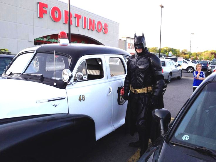 1948 Sheriff Car with Burlington Batman