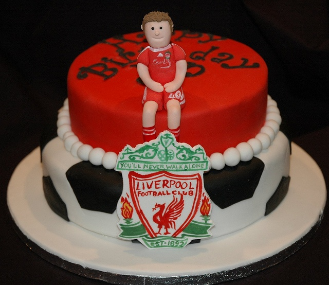 Cake Decorating Classes Merseyside : 15 best Liverpool fc soccer cakes images on Pinterest ...