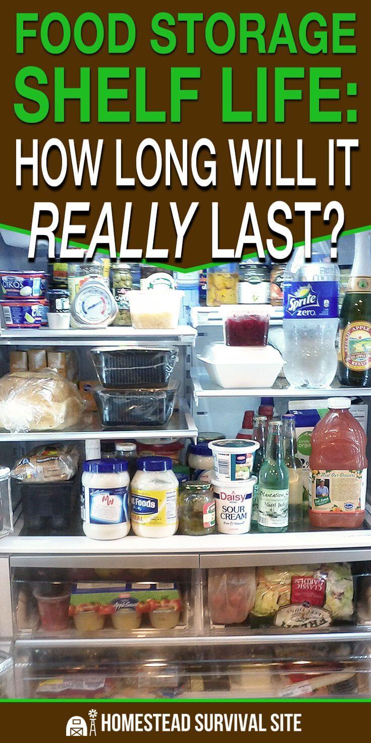 Food Storage Shelf Life How Long Will It Really Last Food