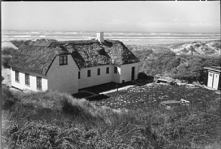 A house in the dunes, Blokhus, Denmark  photo by Sven Türck (1897-1954)