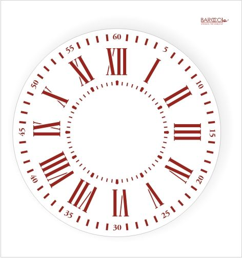 482 best Clocks Decoupage images on Pinterest Prints, Crafts and - clock templates