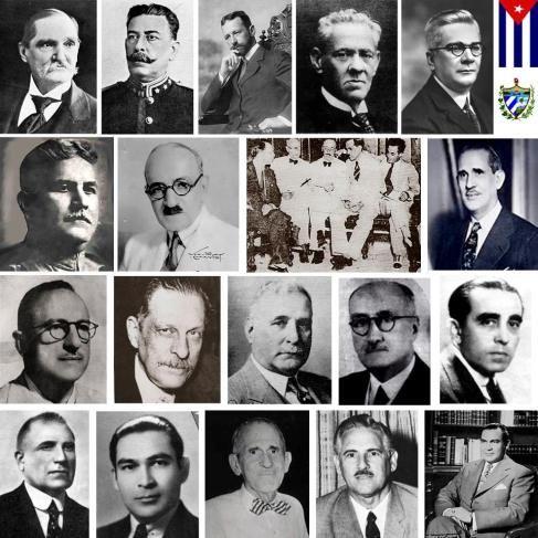 Todos los presidentes de Cuba  http://cubaenlamemoria.wordpress.com/