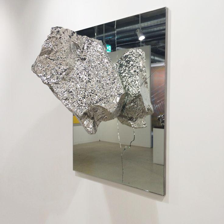 "Zhan Wang ""Flying Stone N.3"" 2014 #artbasel2015 #artbaselgalleries #artfair #artbasel #contemporaryart #artaddict #basel"