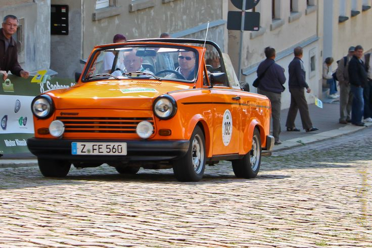 "IFA Trabant 1.1 ""Tramp"" 1988 The last car of the GDR automobile construction, before the reunification of Germany."