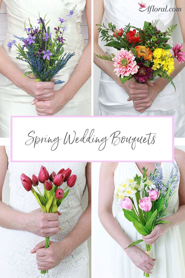 Find Beautiful Spring Florals And Wedding Bouquets With