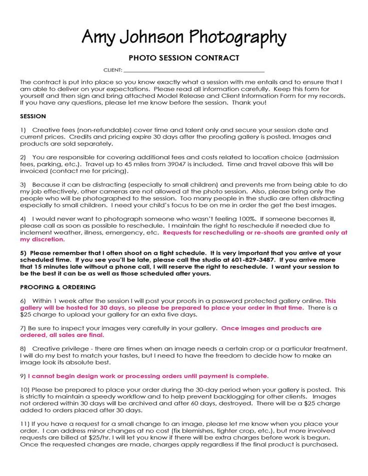 327 best Photography Business images on Pinterest Photography - effective solid business contract making tips