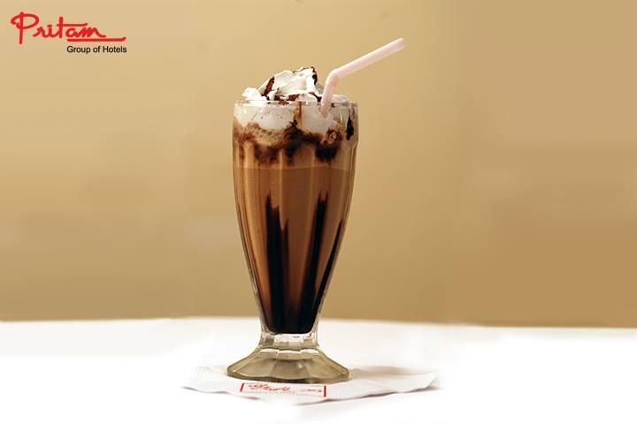Coolers for the season at #ChocolateMilkshake at #Pritam.