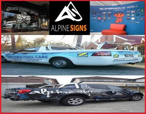 If you are looking for a sign writing company who can create Vehicle wraps in Brisbane to advertise your business, look no other than Alpine Signs. We have a team of professionals for producing great products and great service. Our prices are very reasonable.