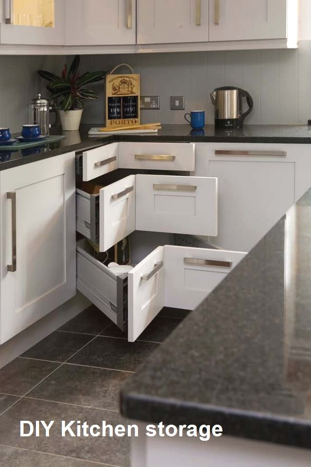 10 Diy Great Kitchen Storage Anyone Can Do 2 In 2020 With Images Kitchen Design Diy Diy Kitchen Storage Kitchen Renovation