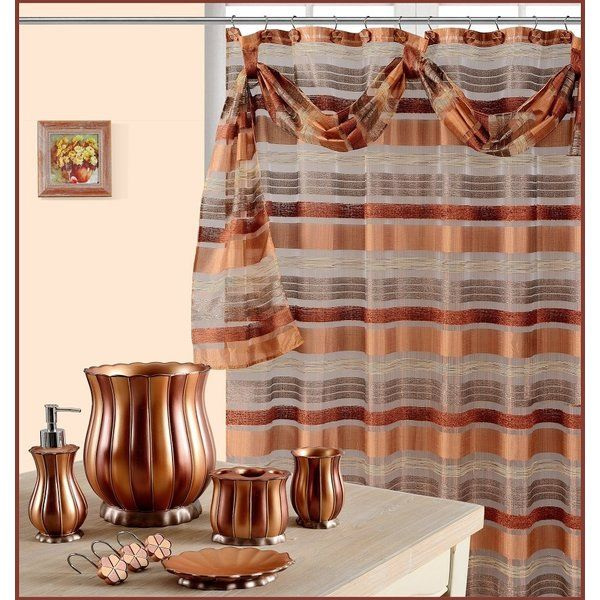 It's time to upgrade the tub. A custom shower curtain is a way to upgrade your powder room. You can easily create a unique room that matches your personal style with a shower curtain showing off your favorite quotes.