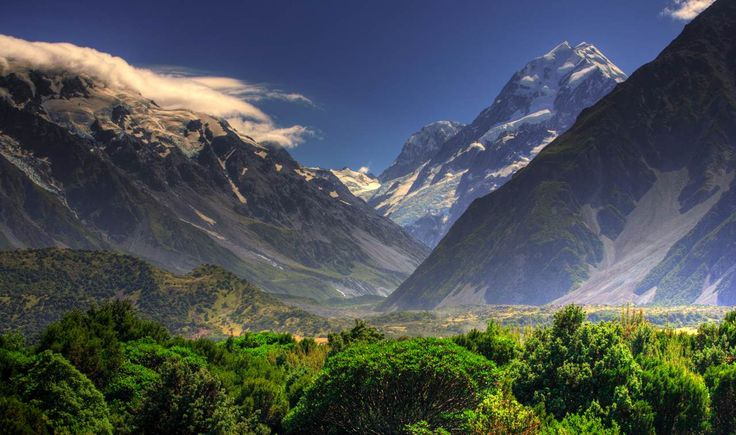 New Zealand. Mountains are calling me!