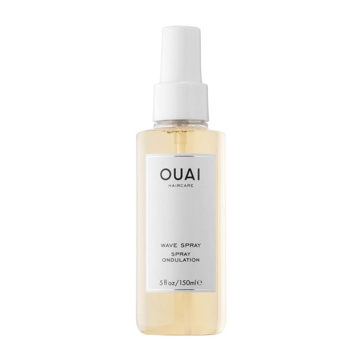 Shop Ouai's Wave Spray at Sephora. This weightless texture mist creates effortlessly chic, undone hair.