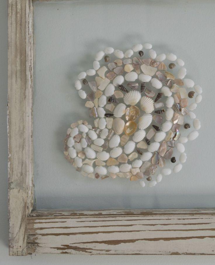 Make Art : Upcycled Window Frame