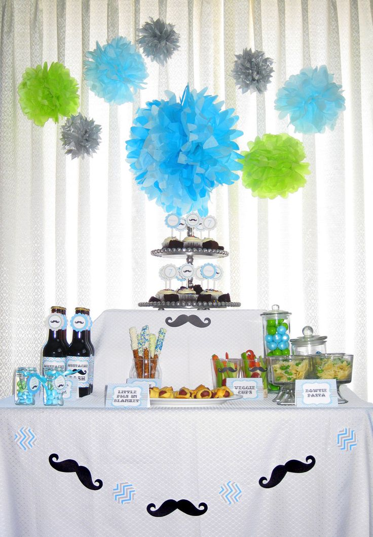205 Best Images About Little Man Theme Party On Pinterest