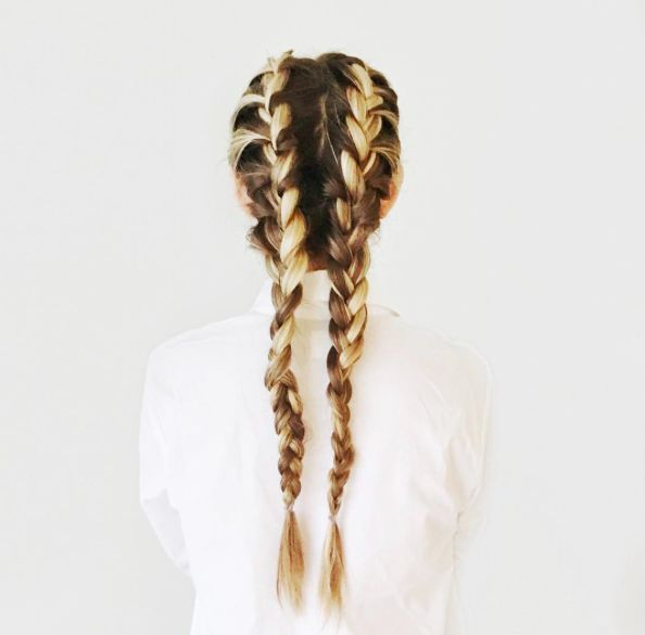 I love dutch braids! And honestly, they're a lot easier (and prettier, I think:) than the french.