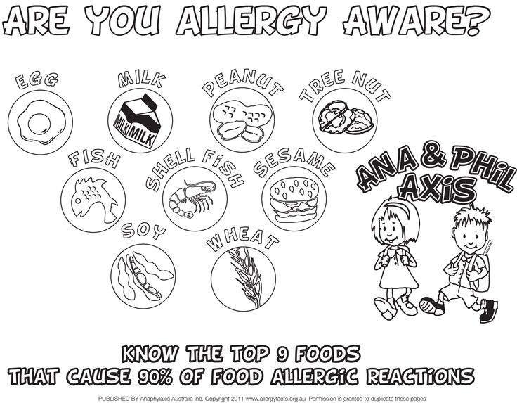 The 12 best Food Allergy Printables images on Pinterest