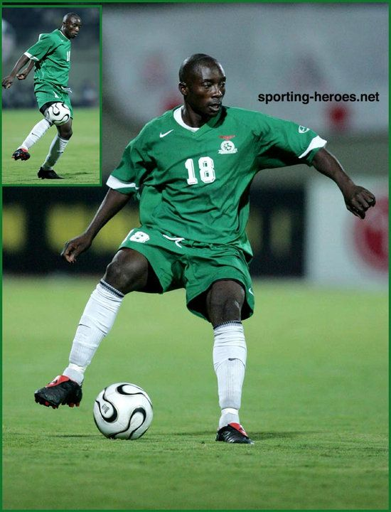 Billy Mwanza - Zambia - African Cup of Nations 2006