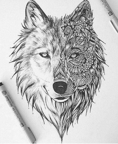 Best 25+ Two Wolves Tattoo Ideas On Pinterest