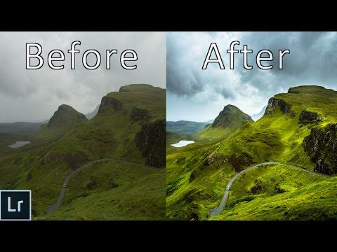 Landscape Photography Editing - Lightroom 6 Tutorial In Depth Explained - From Start to Finish! - YouTube