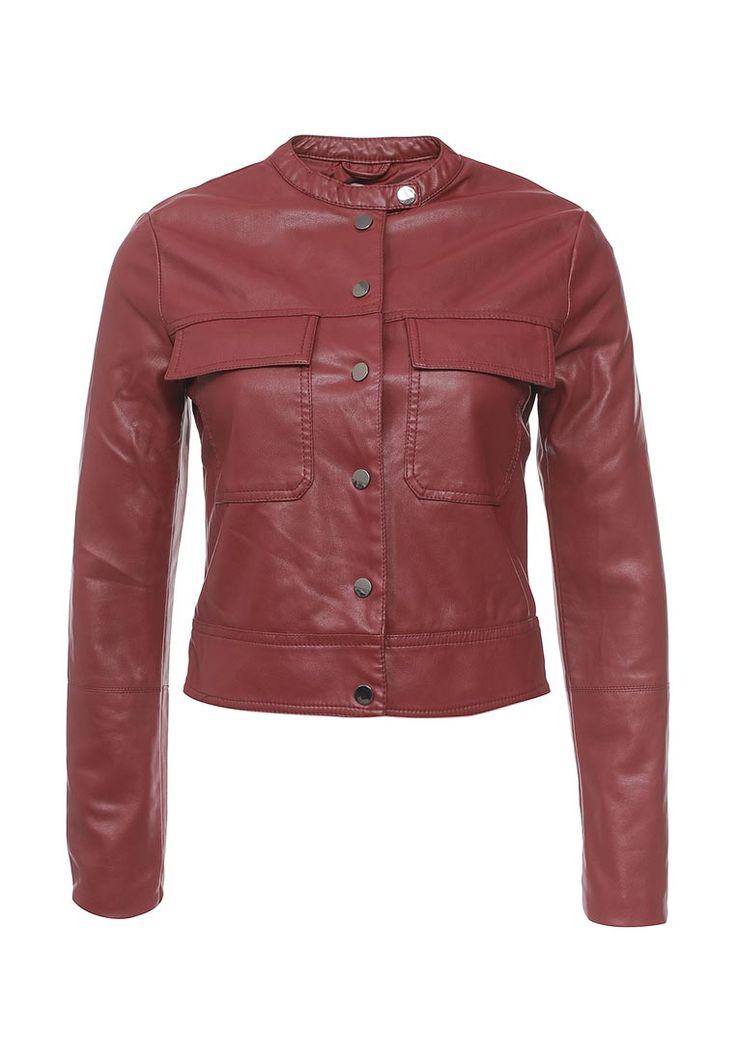 Кожаная куртка oodji выполнена из искусственной кожи. Детали: застежка на молнию; два кармана; разрезы на рукавах с застежкой на молнию; шелковистая подкладка.