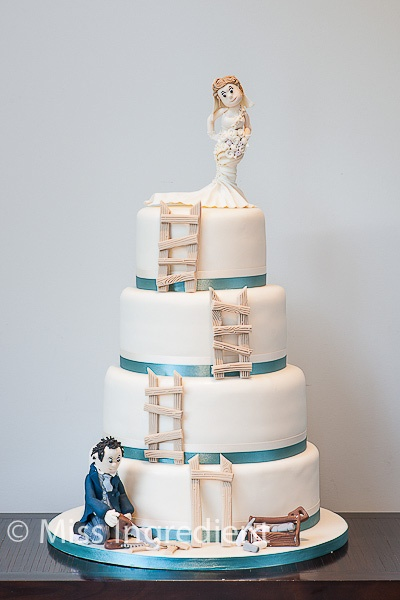 A Special Four Tiered Wedding Cake By Miss Ingredient Cake