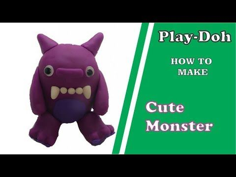 CUTE MONSTER HOW TO MAKE CUTE MONSTER