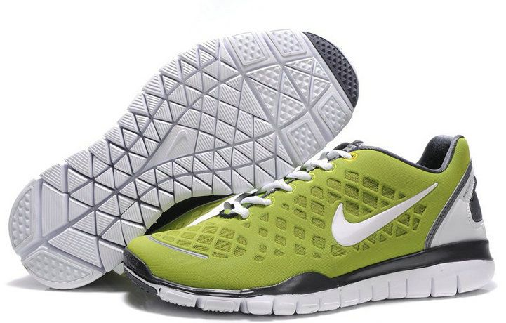 Buy Cheap Nike Free Run Tr Fit Green White Men's Shoes ve85Jqaw