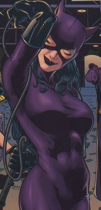 One of my absolute favorite pictures of Catwoman. I have this comic book too! :D