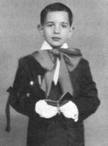 Martin Scorsese lors de sa première communion en 1951