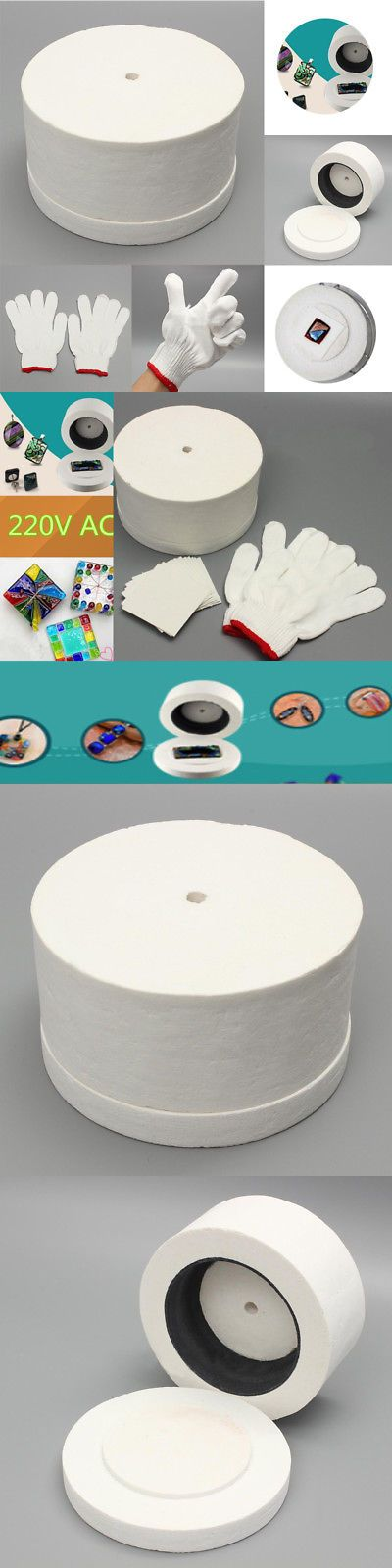 Other Glass Art Supplies 3099: 1 Large Microwave Kiln W 1 Pair Of White Cotton Gloves And 10Pcs Backing Papers -> BUY IT NOW ONLY: $39.99 on eBay!