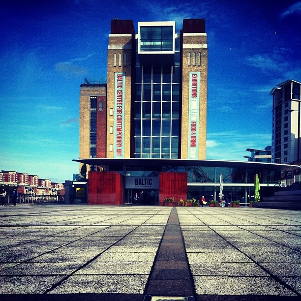 The Baltic contemporary art gallery Newcastle Upon Tyne